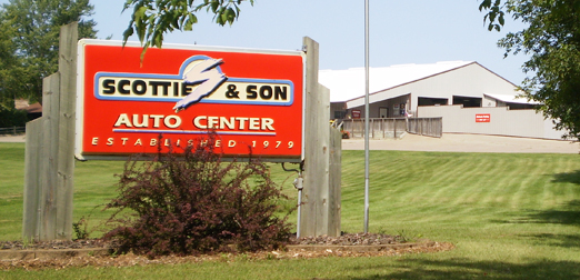 Scottie & Son Auto Center.